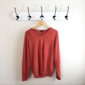 J. CREW cashmere blend light coral sweater